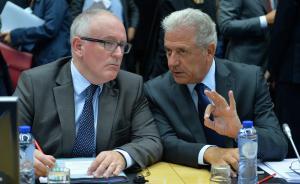 """欧盟通过12万难民""""配额""""方案:东欧四国反对,英国拒加入"""