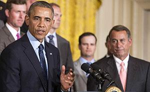 世界头条|美众议院议长或起诉奥巴马滥权