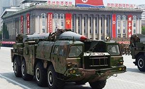 韩媒:朝鲜向东海发射3枚短程导弹
