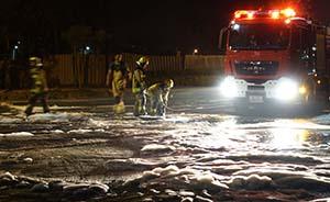 中石油大连管道钻漏事故肇事单位5人被警方控制