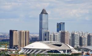 装修未办施工许可证却已用三年,江苏南通第一高楼遭业主抵制