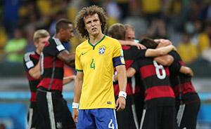 """巴西世界杯酿""""米内罗惨案"""",巴西遭德国7球血洗"""
