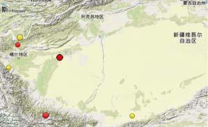 新疆麦盖提县5.1级地震震感强烈,暂无伤亡报告