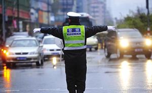 上海一违驾男子撞伤交警逃逸,涉嫌妨害公务被批捕