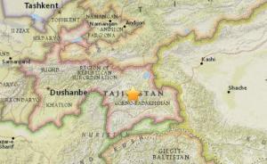塔吉克斯坦发生7.4级地震,震源深度30公里