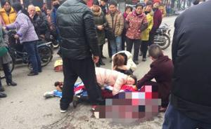 """南昌城管执法车撞死初一男生,同学称""""直接从身上压过去"""""""