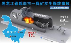 黑龙江鹤岗一煤矿爆炸:33人平安升井,17人被困井下