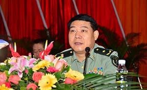 解放军驻港部队司令员调整,谭本宏少将接任