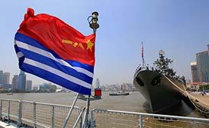 建军节前后解放军将在四大海域同期进行军演