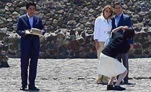 """安倍墨西哥大谈海洋争端,拉美行为""""入常""""拉选票"""