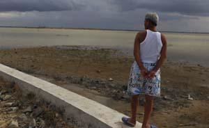 文昌防潮土堤难抵台风冲击,多次打报告只重修了540米