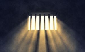 """""""摘法院牌匾放自家门口""""访民被处罚:扰单位秩序,拘留八日"""