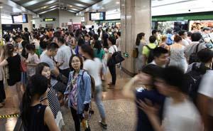 一旦出现航班延误红色预警,上海地铁将增开加班车运客