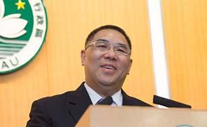 澳门月底选举第四任行政长官,崔世安成唯一被接纳的被提名人