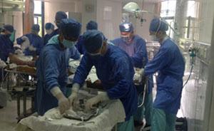 现场图集|上海瑞金医院收治首位昆山爆炸事故伤员