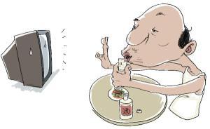 【问答】喝白酒能防电视辐射吗?