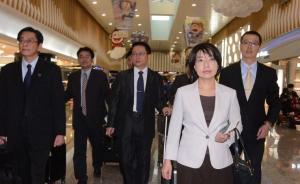 台湾十人代表团抵达北京,与大陆警方协商合作打击电信诈骗