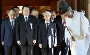 日本约90名国会议员参拜靖国神社,此前特地成立跨党派团体