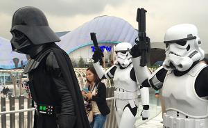 """被吓哭还想玩,多名游客反复排队玩上海迪士尼""""创极速光轮"""""""