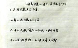 """小偷制定""""工作计划"""":月入8.4万,号称要建一座希望小学"""