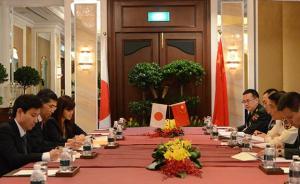 军委联合参谋部副参谋长敦促日方谨言慎行,勿介入南海问题