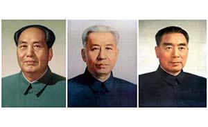 """毛泽东是如何变成画像上的""""毛主席""""的?"""