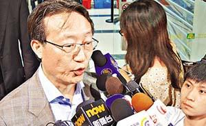 """香港律师会长林新强""""不信任""""动议后首度发声:坚持当初立场"""