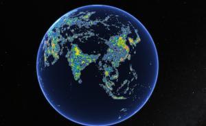 地图湃 | 你逃得开光污染吗:星汉灿烂,何处得见?