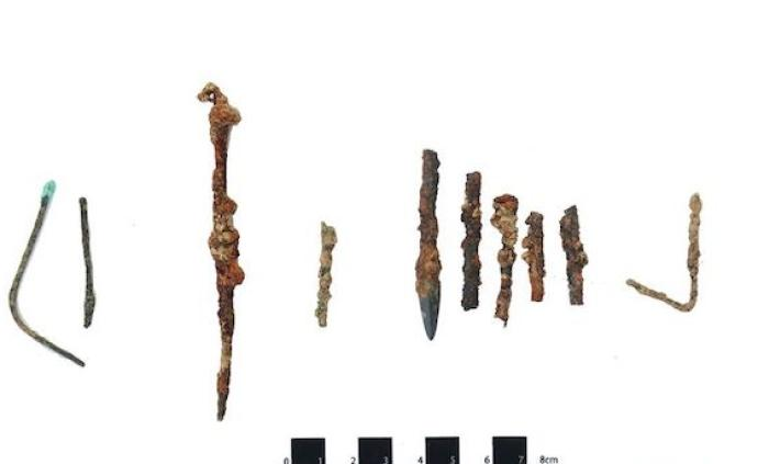 秦都咸陽城核心保護區發現秦代石鎧甲制作遺存