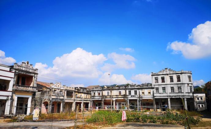 臺山成務學校,中國第一所華僑捐建的鄉村學校