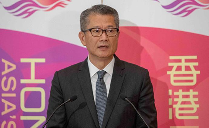 香港財政司司長陳茂波:對經濟最大打擊的是本地社會事件