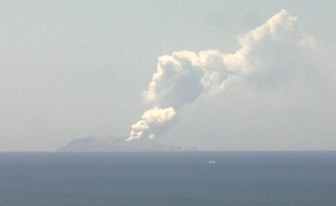 新西兰怀特岛火山爆发喷发大量蒸汽碎屑,至少20人受伤
