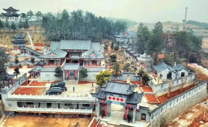 """湖南""""邵東第一豪宅""""申家大院被拆除,已建成7000多平米"""