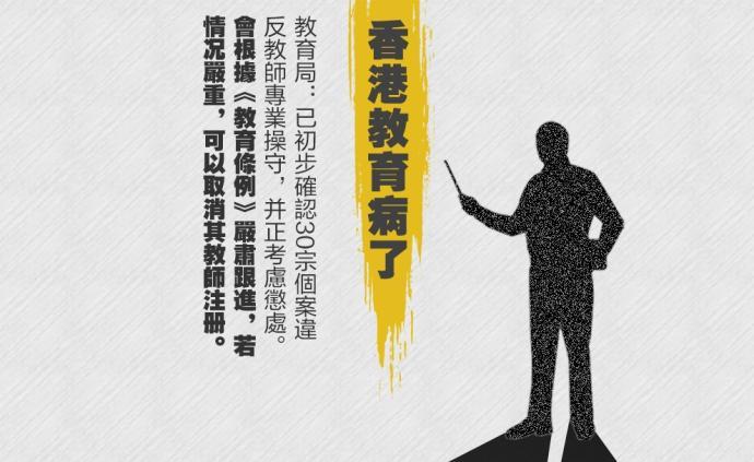 人民銳評:教師施暴縱暴,乃香港教育之恥
