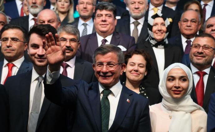 与总统埃尔多安决裂之后,土耳其前总理达武特奥卢组建新政党