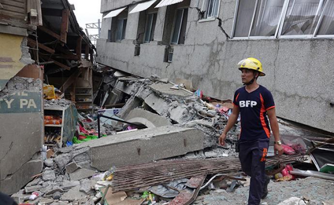 菲律賓6.9級強震已致4死14傷,災區多所學校停課