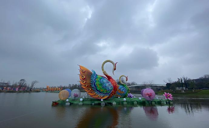 南通首屆燈會下月舉行:200位自貢工匠制作130組彩燈