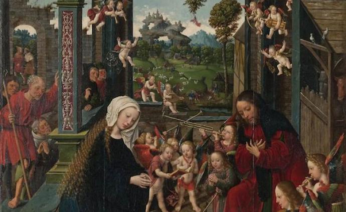 鑒賞| 芝加哥藝術博物館收藏的圣母像、耶穌誕生藝術及賀卡