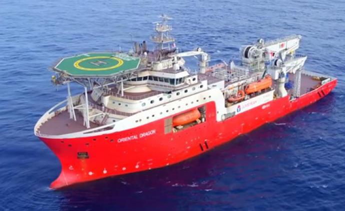 """飽和潛水支持船""""海龍""""號交付,作業能力國內最強"""