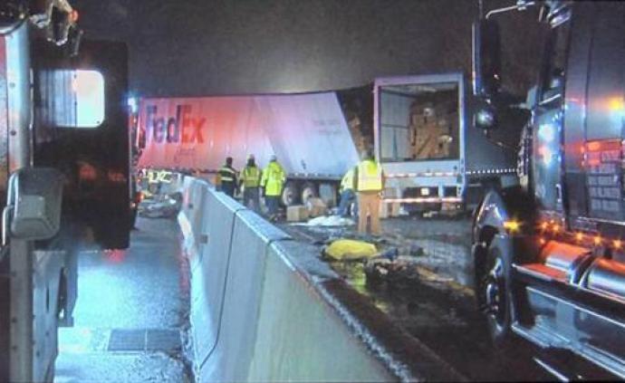 美宾州发生严重交通事故,中领馆启动应急机制