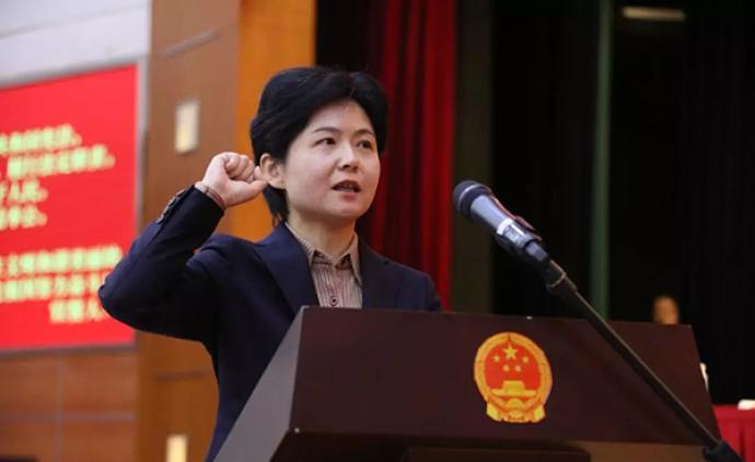 王嵐當選上海長寧區人民政府區長