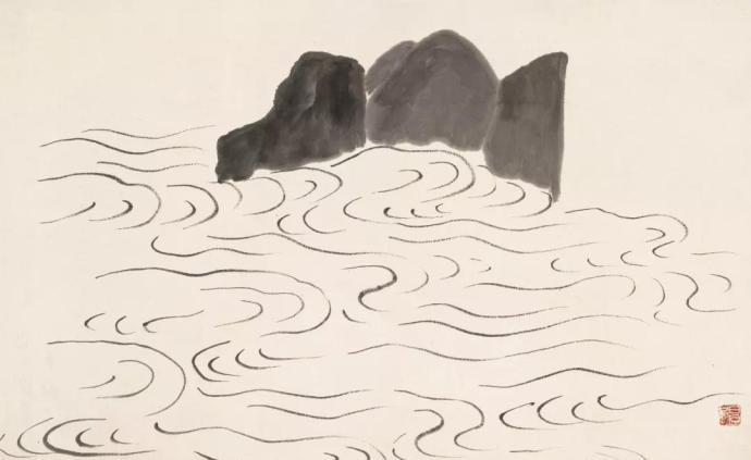 """齊白石的遠游和山水畫,廣州藝術博物院展""""美意延年"""""""