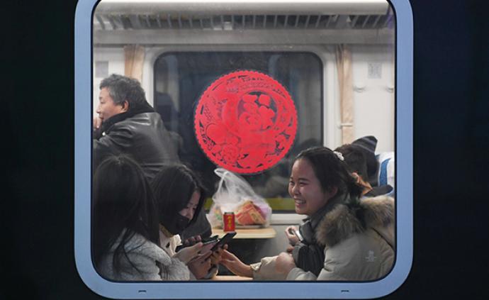 1月12日全國鐵路預計發送旅客1150萬人次