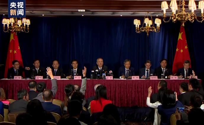 刘鹤副总理:中美达成的农业领域协议不会影响第三方利益