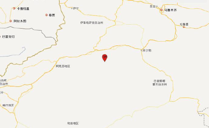 新疆阿克苏地区发生5.6级地震,网友:震中当地震感强烈