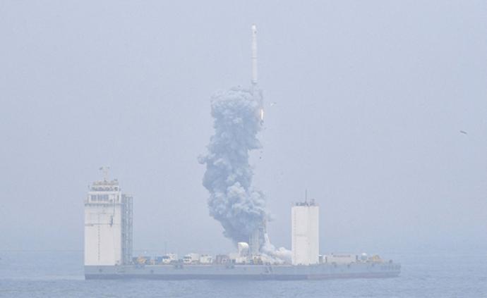"""長征十一號火箭今年有""""大動作"""",計劃進行3次海上發射"""