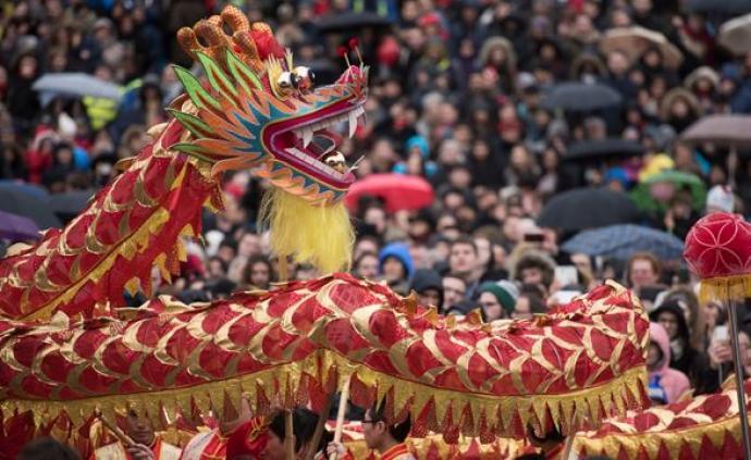 海外中国年   英国的春节气氛有多浓?
