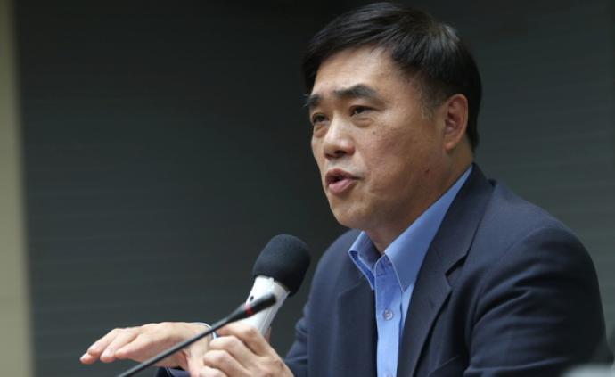 前台北市长郝龙斌宣布参选国民党主席