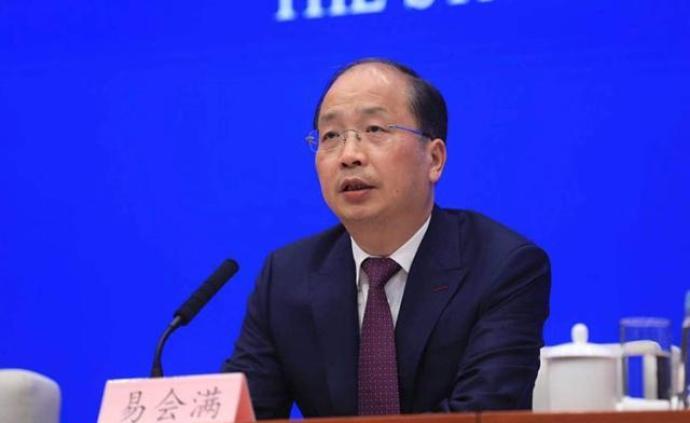 易会满:新证券法施行标志着中国资本市场发展进入新历史阶段