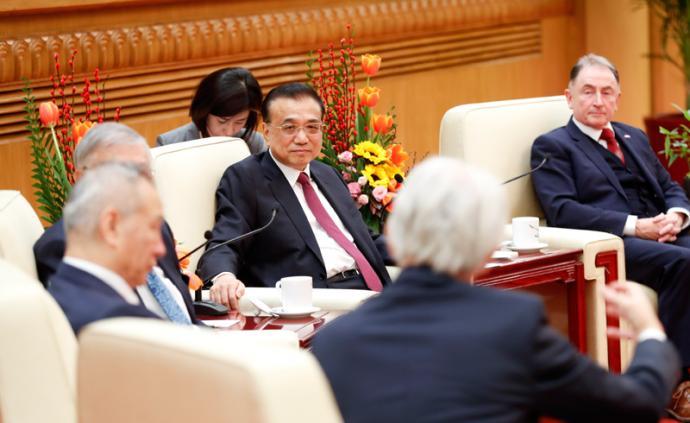 李克强对外国专家说:你们的建言直通部长办公桌